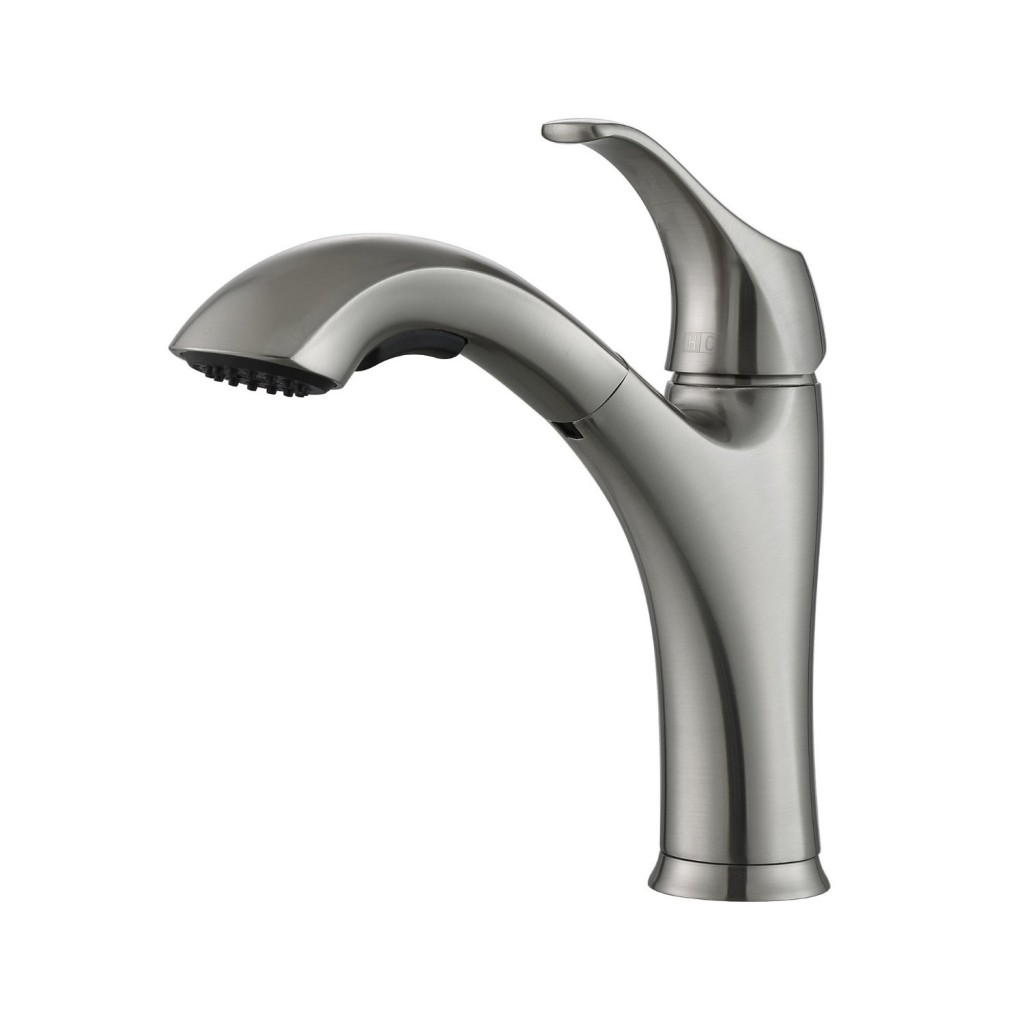 Single Handle Pull Out Kitchen Sink Faucets