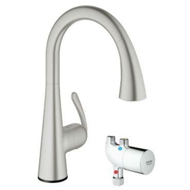 and handle sink chrome sprayer out single in kitchen leaking icb touch delta pull faucet faucets