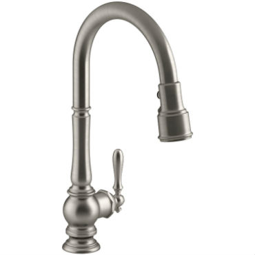 How do i stop a leaky kitchen faucet